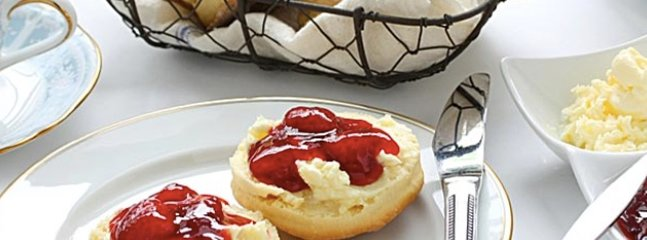 So many lovely Cafes + restaurants  --  to enjoy a Cream tea