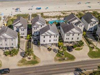 Oceanfront Four Bedroom Beach House at Portofino I, Heated Pool