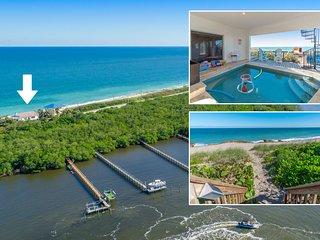 La Dolce Vita: Ocean-2-River Beach House Directly On Beach (+pool,elevator&dock)