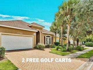 2 FREE Golf Carts & VIP Perks! Hotub, $200 LiveWellCredit, Pool (Communal)!!!