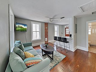 Updated Downtown Apartment w/ 2 Balconies - Walk to Shops & Waterfront!
