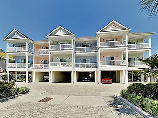 Sun-Soaked Beach Townhome w/ 2 Balconies, Screened Porch & Sparkling Pool