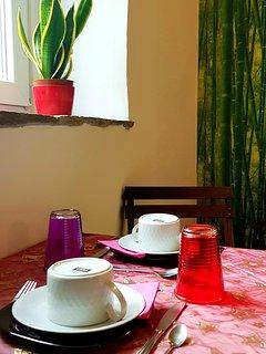 Mesa de pequeno almoço  Table for the breakfast