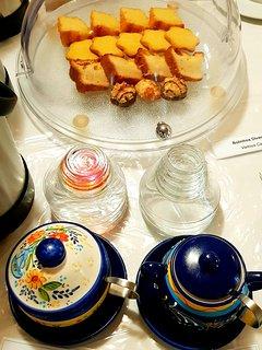 Pequeno almoço Buffet continental Buffet continental breakfast