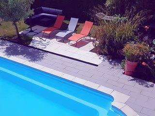 maison avec piscine de vacance