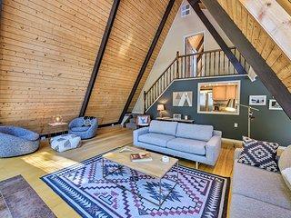 NEW! A-Frame Cabin Mountain Hideaway in Leadville!