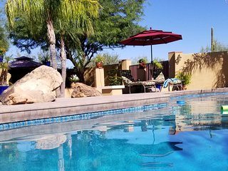 Quiet and Private Casita, N. Scottsdale, Cave Creek, Az, Patio & Pool, private