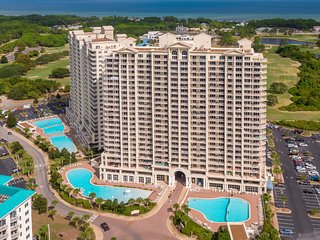 Beach Condo at this Amazing Resort with Beach & Golf Course Views at Ariel Dunes