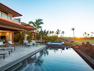 Modern Luxury Ocean/Sunset View Home with Private Beach Club Access