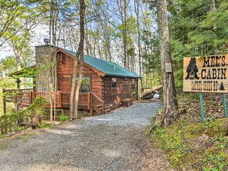 Blue Ridge Cabin w/2 Decks, Jacuzzi & Table Tennis
