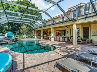 New listing! Beautiful, waterfront home w/ private lanai, pool, & dock