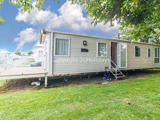 8 berth caravan for hire with decking on Skipsea Sands holiday park ref 41197WF