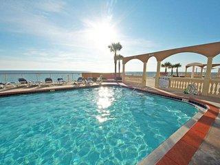 Floor to Ceiling Gulf Views in this Beach Condo at Sunrise Beach Resort (1202)