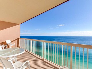 Beachfront Penthouse Condo with Gulf Views from the Master Bedroom!