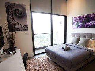 KL Sentral - The EST Bangsar Duplex Apt #3 吉隆坡中央火车站 EST酒店公寓#3温馨小居