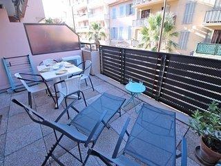 Appartement T2 cabine 4 personnes - Climatisation - Centre ville - Sainte Maxime