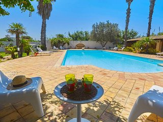 Pet friendly 3 bedroom villa in Sicily with pool