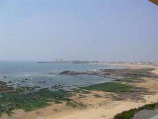 Appartement avec une superbe vue sur la plage des Sables d'Olonne.