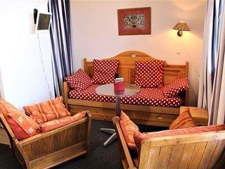 Appartement 3 Pièces 6 couchages Risoul 1850
