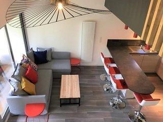 Beaurivage : Emplacement ideal pour ce studio mezzanine
