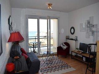 Appartement VUE MER EXCEPTIONNELLE avec WIFI a TREGASTEL