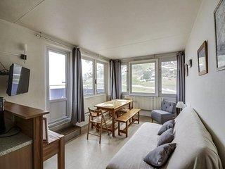 3 pièces 8 personnes avec terrasse de 40m² , résidence Mongie Tourmalet
