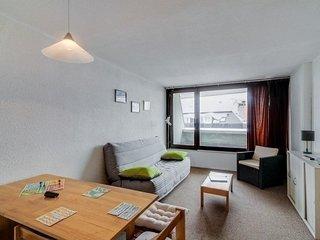 Studio cabine 6 personnes, résidence Mongie 1800