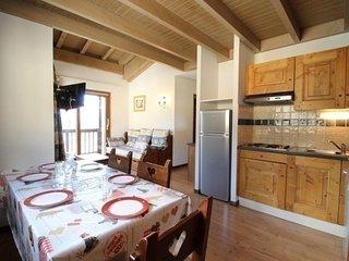 SPO013 Appartement spacieux pour 6 personnes avec tres belle vue montagne