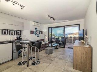 PORTICCIO-Tres bel appartement proche plage F3-TERR ISOLELLA