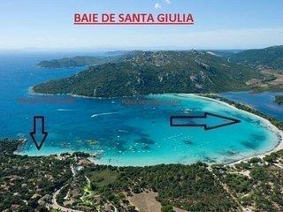 PORTO VECCHIO - Santa Giulia - Mini villa PORTO a 200 m de la plage HP115