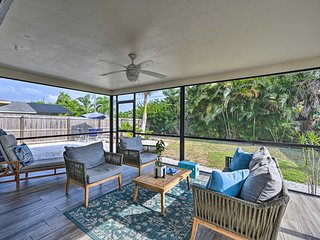 NEW! Chic Beach House with Lanai and Private Yard!