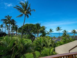Elegant 2/2 at Maui Kamaole, Stunning Ocean Views