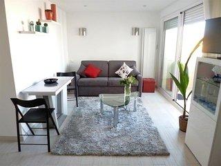 Arcachon - Port de plaisance - Beau studio refait a neuf - balcon, parking