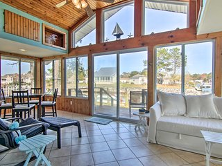 NEW! Waterfront Getaway w/ Boat Dock & Pool Access