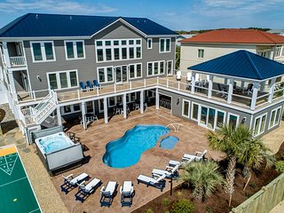 A Crown Jewel | Oceanfront | Private Pool, Indoor Pool, Hot Tub