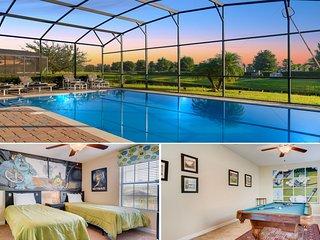 2383VD Beautiful 6 Bed Pool Villa *Free Grill