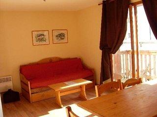 2 pièces + cabine 6 personnes de 37 m²