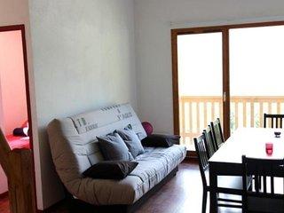 2 pieces + mezzanine 6/8  personnes 40 m2