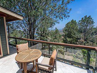 Del Mar Tree House: Peaceful Sanctuary w/ Wraparound Balcony & Outdoor Gym