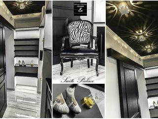 Suite Palace Une décoration de Luxe aux touches Baroque, un séjour de Luxe au Apparts Hôtel GLAM88