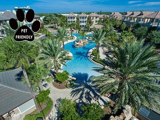 Lagoon Pool/Hotub, Near Beach +FREE Perks, $200 LiveWellCredit, Pet Friendly!
