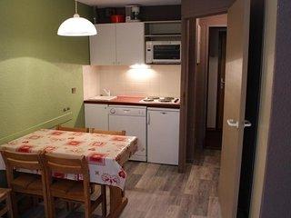 Studio+cabine 4 personnes centre station 25m²