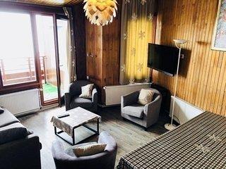 Tignes duplex 3 chambres 6- 8 personnes avec wifi proche aux pistes
