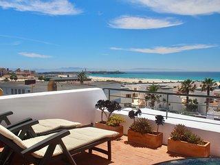 Beachfront Penthouse Apartment - Los Lances