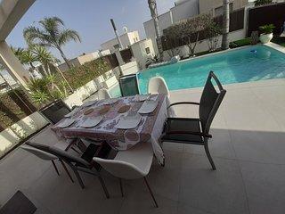 Magnifique villa plain pied pres d Orihuela,Vistabella golf