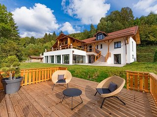 Le Lodge a Ventron : chalet d'exception avec piscine interieure