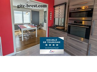 MAISON 4**** gite Brest,location vacance finistere