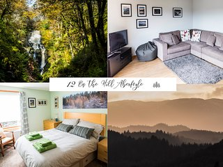 12 On the Hill, Aberfoyle Fab village location in scenic Lomond/Trossachs