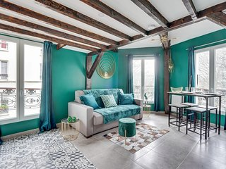 147 Suite Atmosphere, Nice Duplex, Paris Center