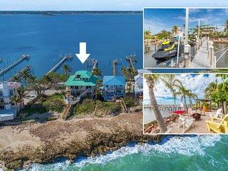 Carpe Diem! Stunning FL Beach House ON Beach +Dock!  << $100 per night / Bedroom